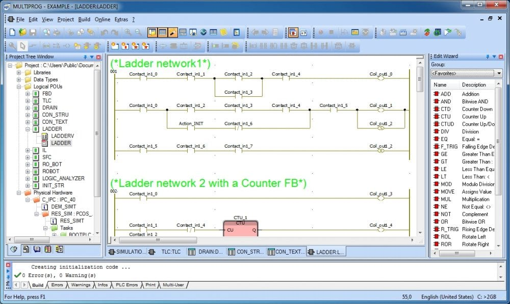 What are the Different PLC Programming Languages