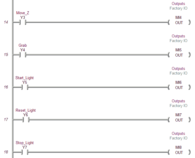 PLC Programming Example – Pick and Place