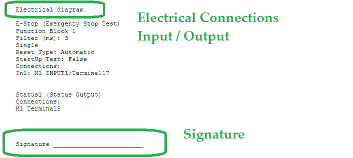 MOSAIC Safety Controller Reports / Documentation