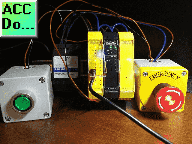 MOSAIC Safety Controller Emergency Stop
