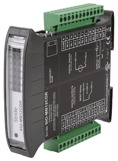 Stride Field Remote IO Modules Modbus TCP Ethernet