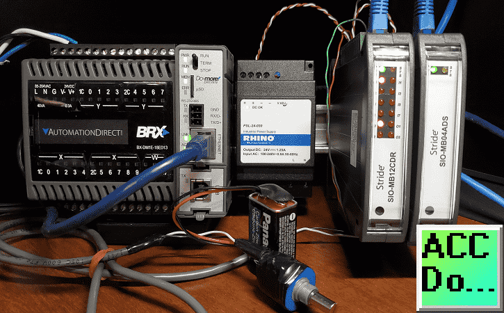 BRX Do-More PLC Modbus Remote IO