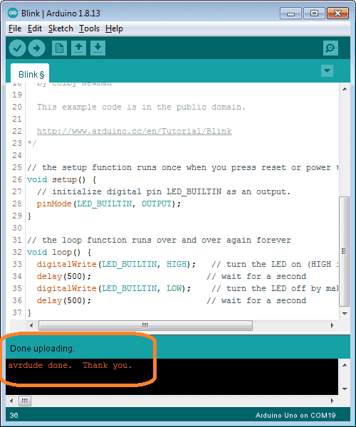 arduino uno software