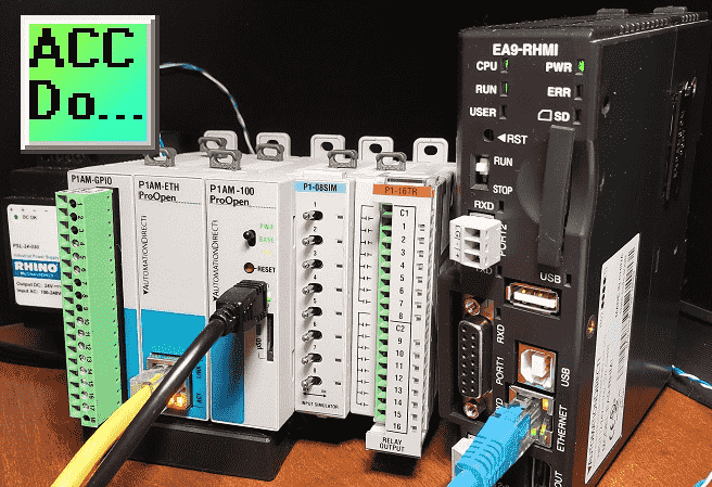 p1am arduino modbus tcp c-more ea9