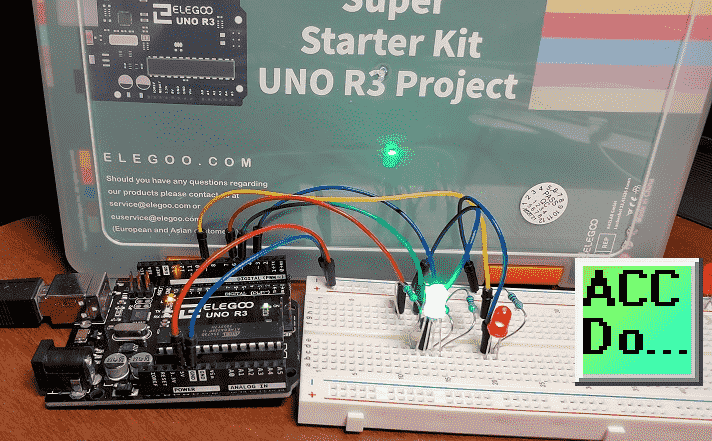 Arduino Uno Super Starter Kit LEDs