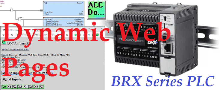 BRX Do-More PLC Dynamic Web Pages