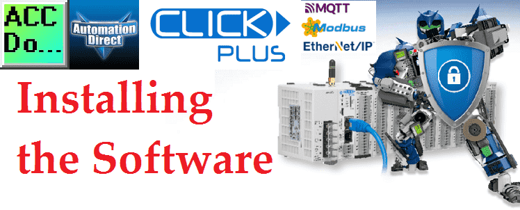 Click Plus Software Installation